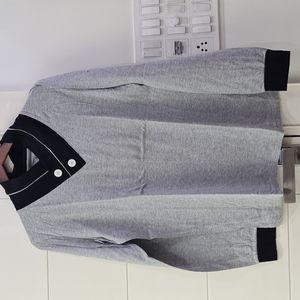 Here & Now Grey Full Sleeves TShirt